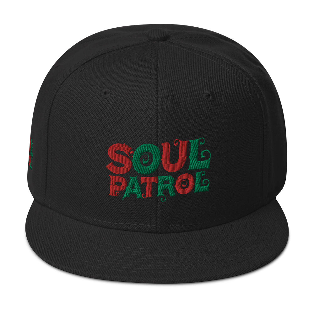 SOUL PATROL Snapback Hat [Embroidered]