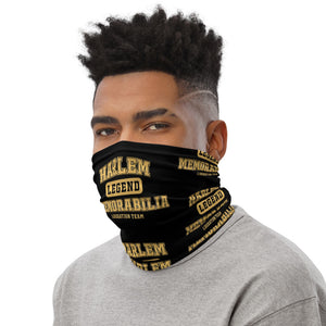 HARLEM MEMORABILIA (LEGEND) Face/Neck Gaiter [GOLD]