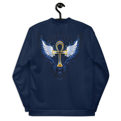 ANKH WITH WINGS Unisex Bomber Jacket