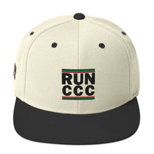 RUN CCC Snapback Hat [Embroidered]