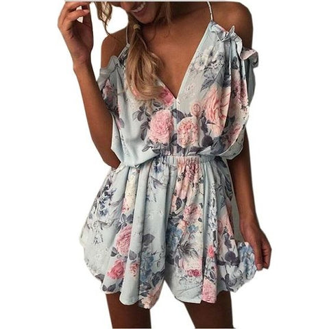 6c70870561a Ladies Deep V Neck Sequin Playsuit.  42.99. ooMAXI Ladies Floral Romper and  Playsuit Selection