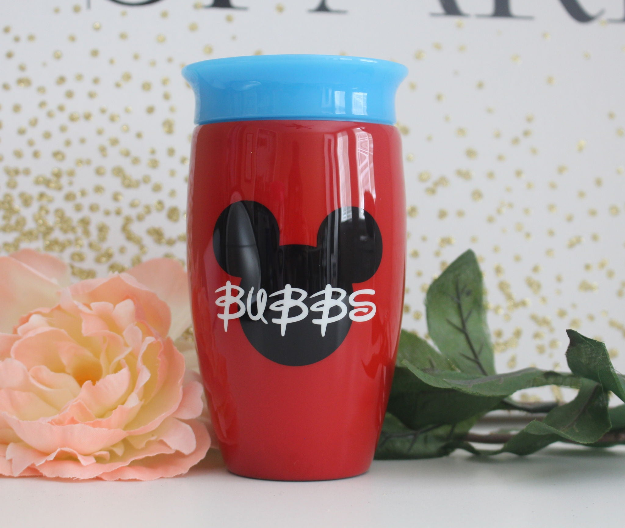 MICKEY PAINTED STEEL KIDS CUP