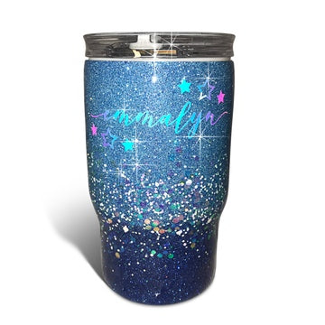 Create your own kids glitter tumbler