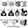 Create Your Own Monogram Ombre