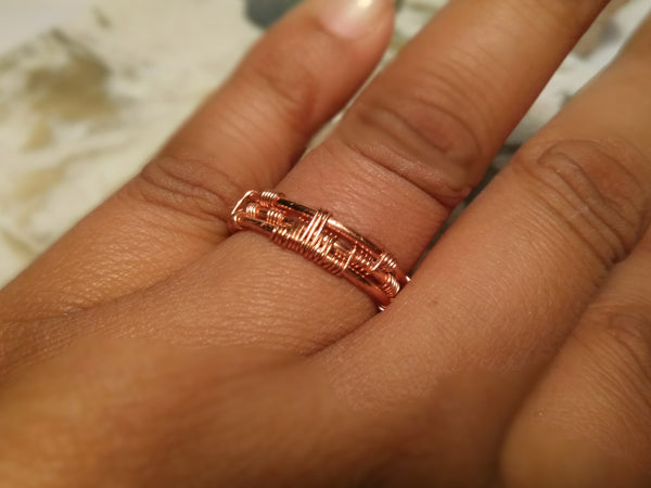 Woven Ring Band