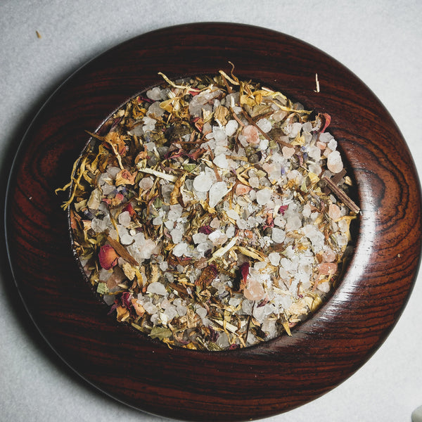"""Flow"" - Detox Herbal Womb Wellness Bath Salts"