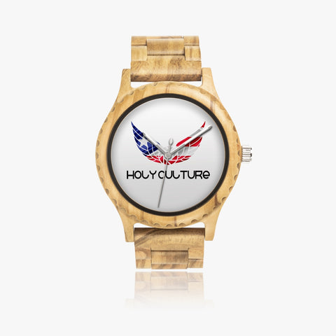 HC P.R Special Edition Natural Wooden Watch