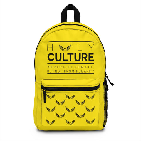 Our Culture Yellow Backpack