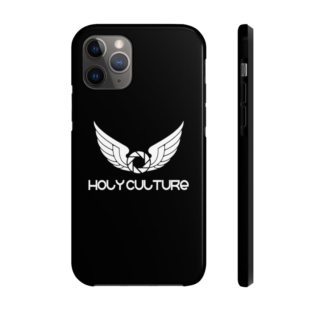 Holy Culture  Black Phone Cases