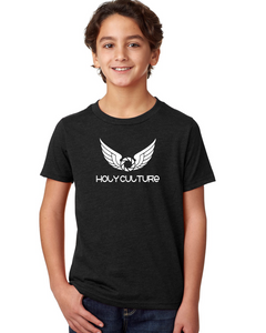 Holy Culture Kids T-Shirt Black