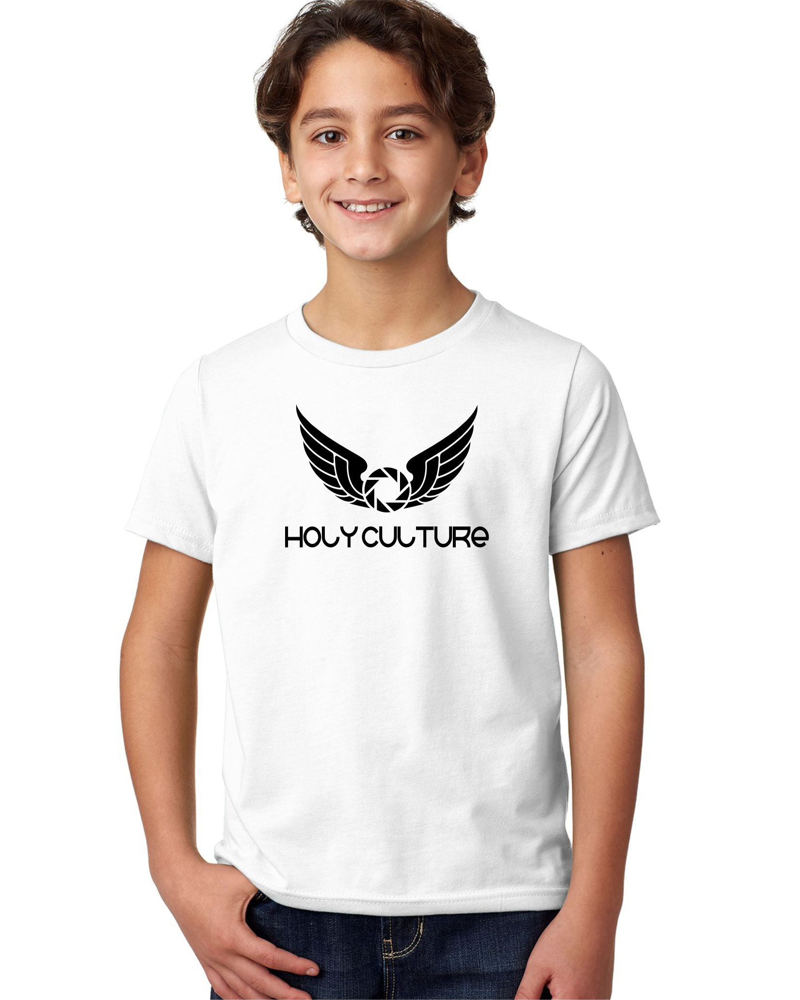Holy Culture Kids T-Shirt White