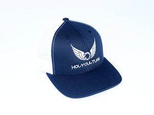 HC Navy and white Snapback