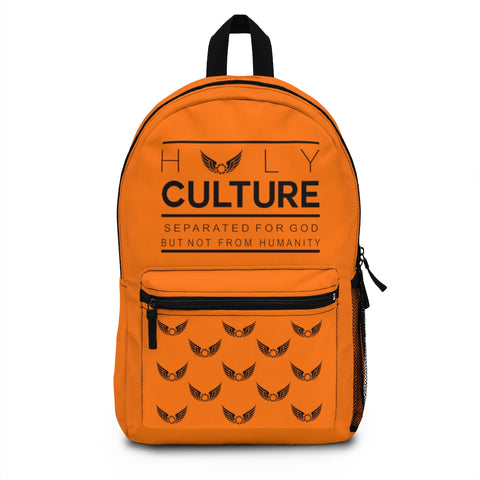 Our Culture Orange Backpack