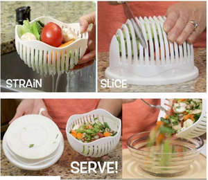 1 Minute Salad Slicer - Slingkee-Wholesale