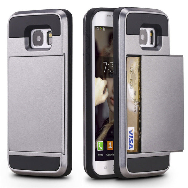 Hidden Wallet Case - Samsung - Slingkee-Wholesale