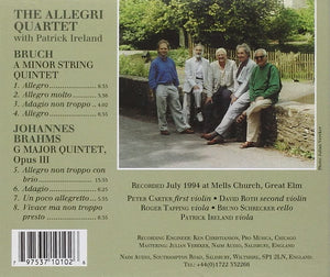 The Allegri Quartet with Patrick Ireland