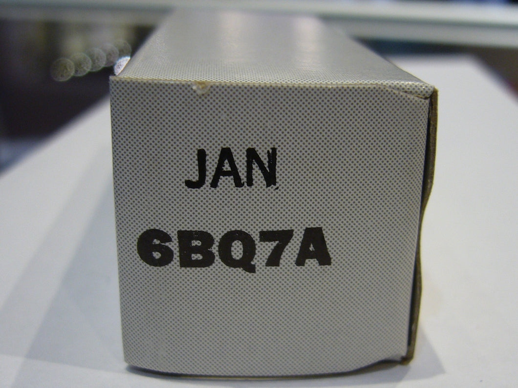 GE 6BQ7A Jan(New Old Stock)