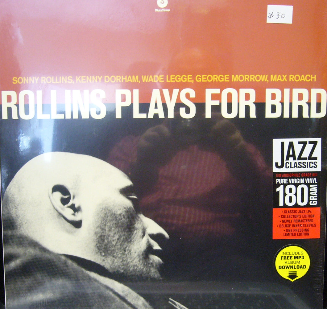 Sonny Rollins/ Rollins Plays for Bird