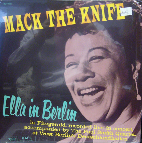 Ella /in Berlin/ Mack The Knife