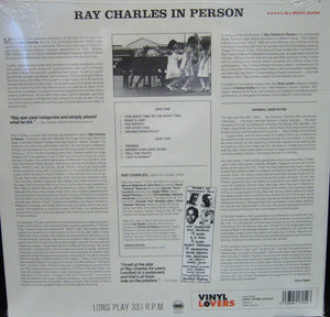 Ray Charles/ In Person