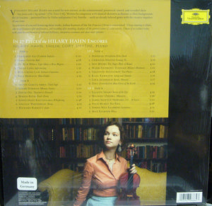 The Hilary Hahn/Encores/ in 27 Pieces