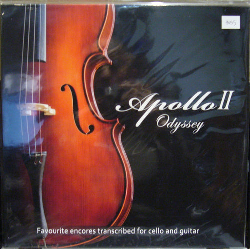 Apollo II Odyssey/ Daniel and Carey Domb/ Cello and Guitar