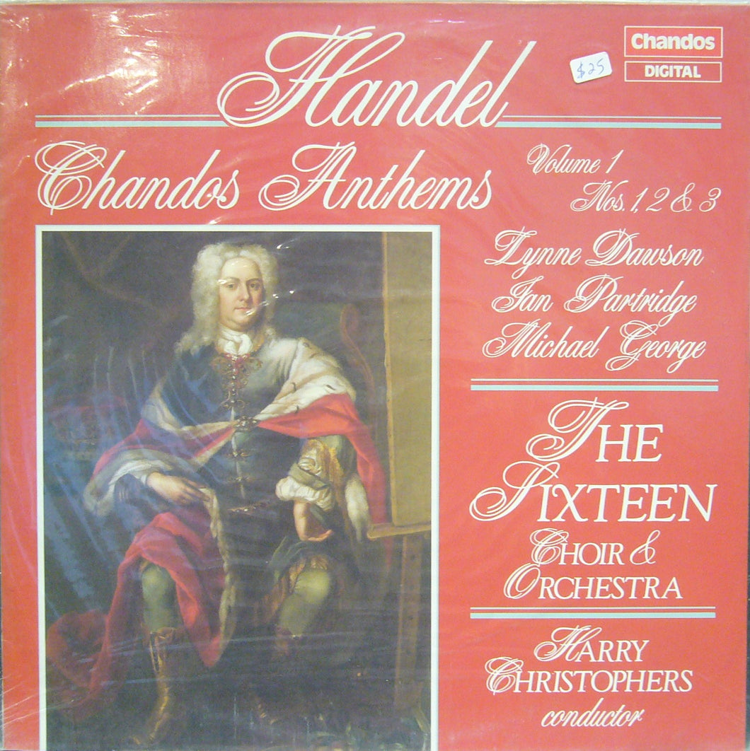 Handel/ Chandos Anthems/ The Sixteen Choir & Orchestra