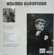 Prokofiev/ Peter and The Wolf/ Violin Concerto No>2/ Bernstein/ Issac Stern