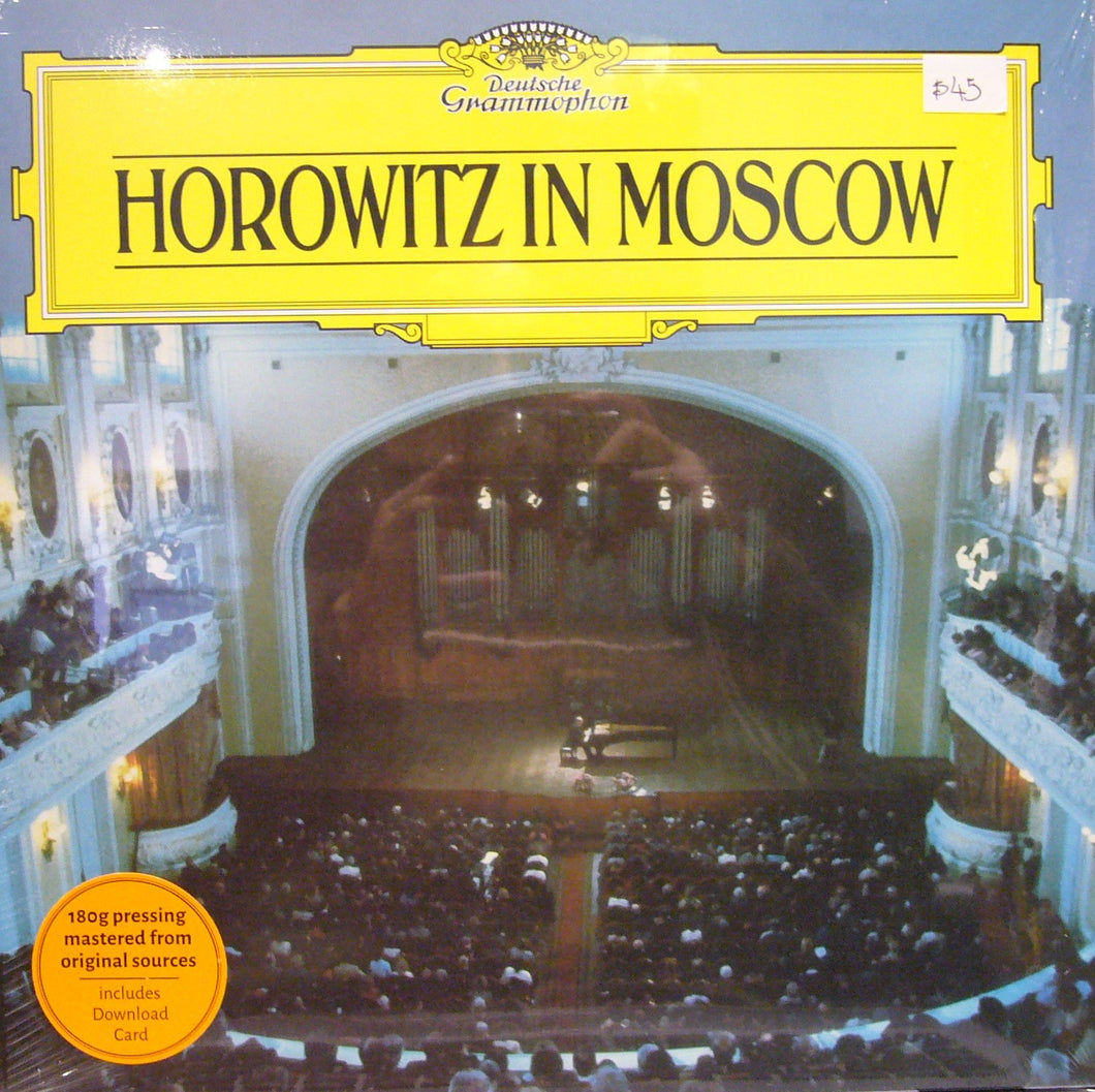 Horowitz in Moscow