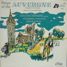 Songs of the Auvergne/ Netania Davrath