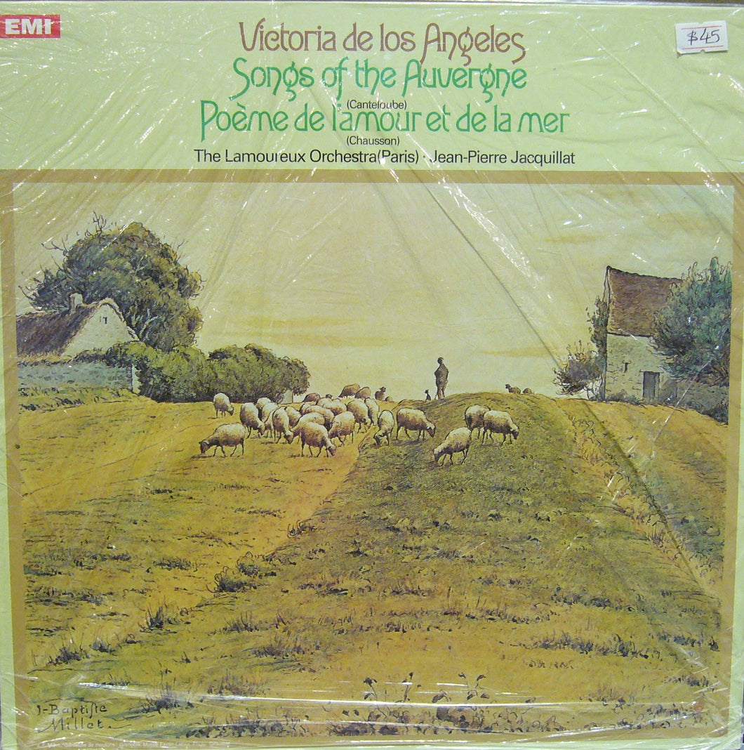 Songs of the Auvergne/ Victoria de los Angeles