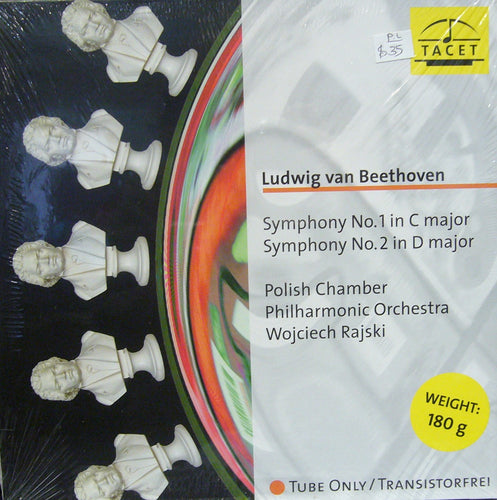 Beethoven Symphony No.1in C Major/ No.2 in D Major/Polish Chamber/Wojciech Rajski