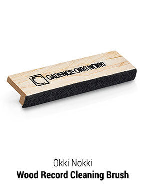 Okki Nokki Wood Record Cleaning Brush