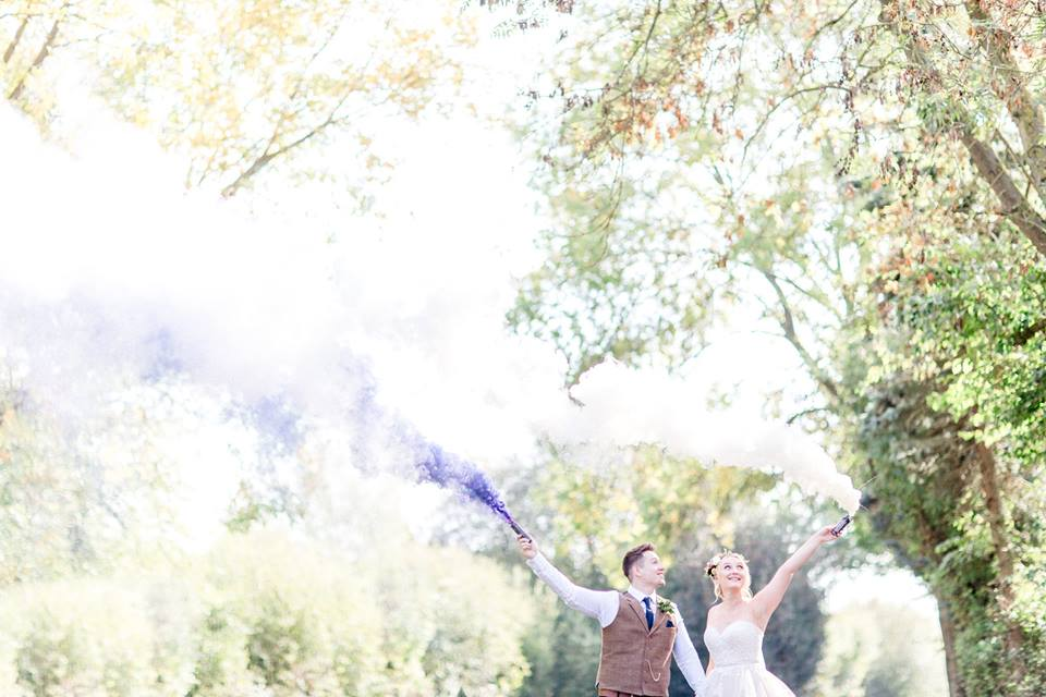 Nancy & Dan's awesome autumn wedding