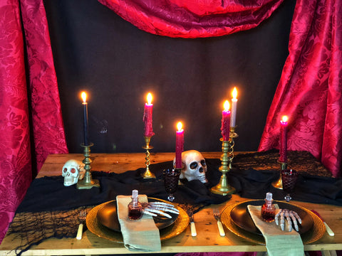 Halloween party hire | Bespoke props Essex by Rock the Day | Party styling London