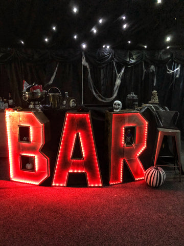 Halloween corporate party - team building day | Bespoke props for corporate events by Rock the Day Essex