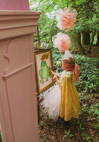 Themed birthday party | Princess party hire | event styling and props hire by Rock the Day Essex