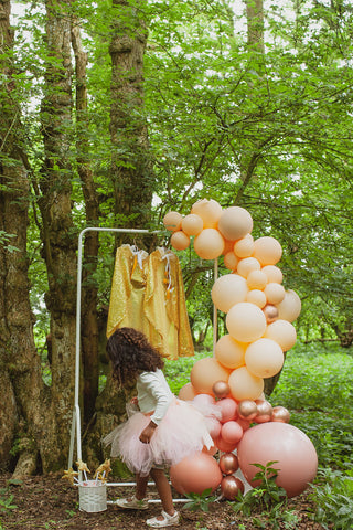 Princess themed kids party Essex | Prop hire and event styling by Rock the Day