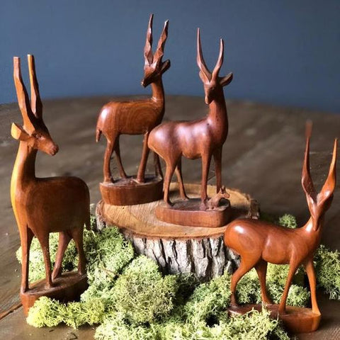 Rock the Day Styling | Bespoke Prop Hire | Wooden animals