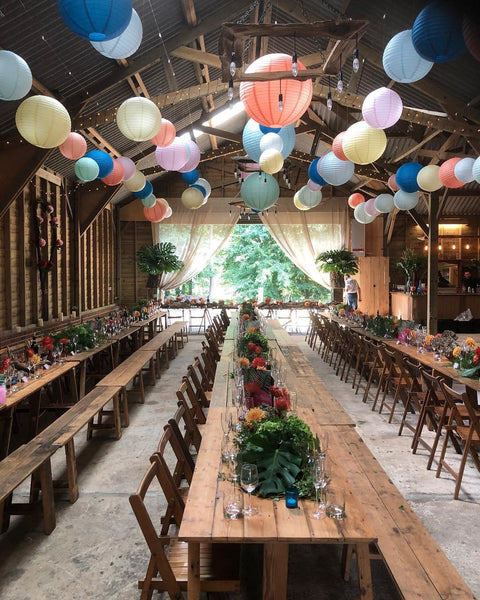 Wedding styling | Event styling | Prop hire and bespoke props by Rock the Day Essex