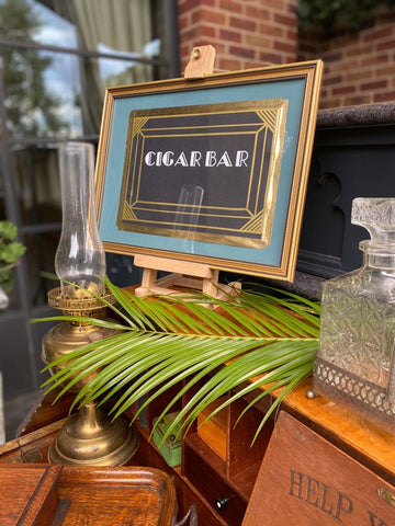 Great Gatsby party, bespoke signage, party props,