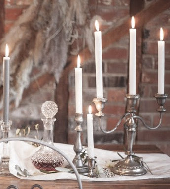 Silver candelabras for hire | table and chair decor hire London | bespoke event props | Rock The Day