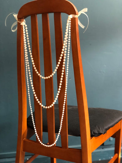 Great Gatsby style chair decoration for hire in Essex