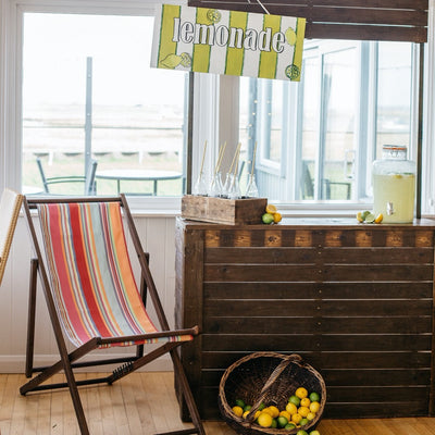 Summer party hire - Lemonade Bar - Rock the Day, Essex