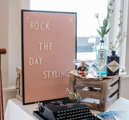 Retro Letter Board to hire