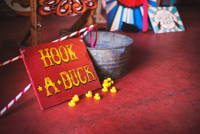 Hook The Duck outdoor party game for hire/Essex