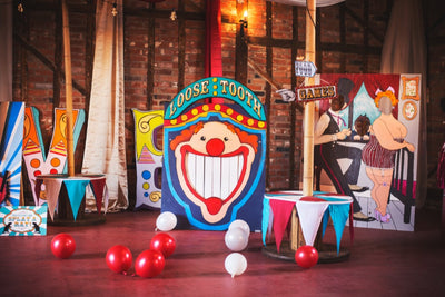 Vintage Circus style games for hire for parties and events in Essex
