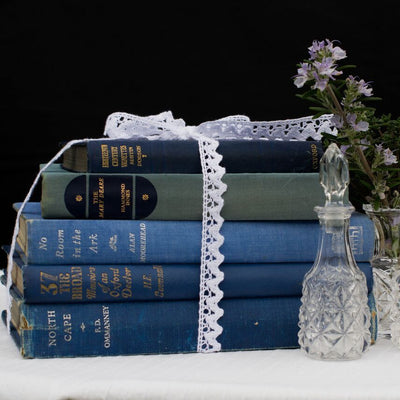 Vintage Books | Prop Hire | wedding decor | Rock the Day