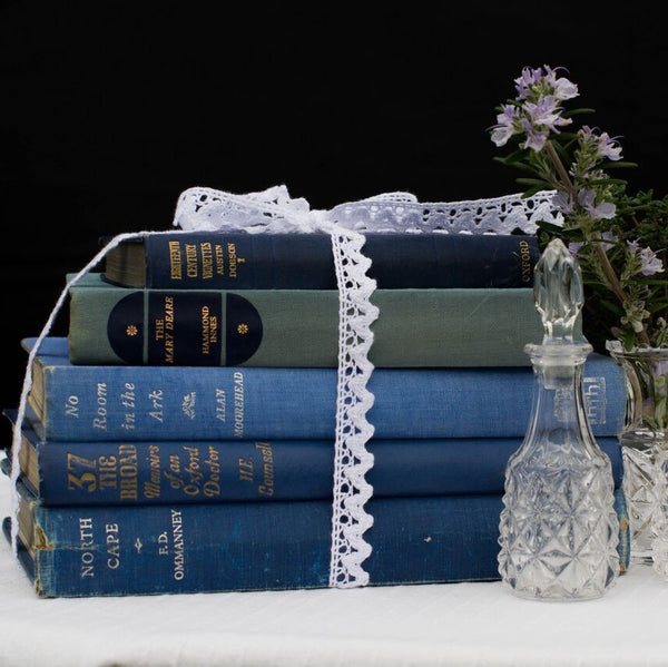 Vintage Books | Prop Hire | Rock the Day Wedding Styling