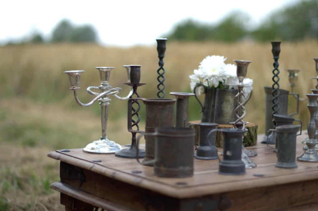 Tankards and Vases | Prop Hire | Rock the Day Wedding Styling